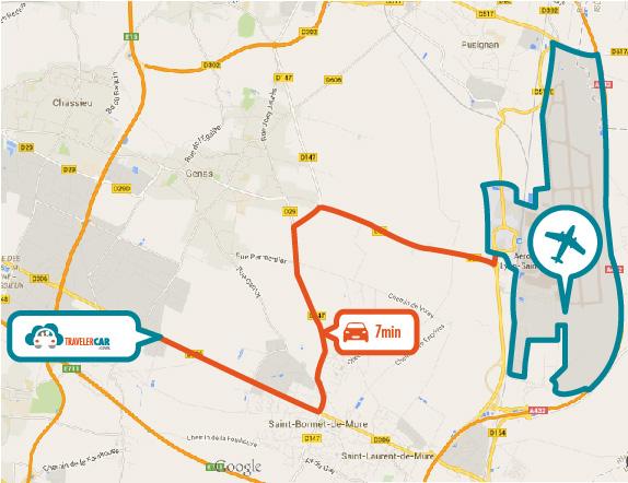 Parking Proche De L A 233 Roport De Lyon St Exup 233 Ry Travelercar