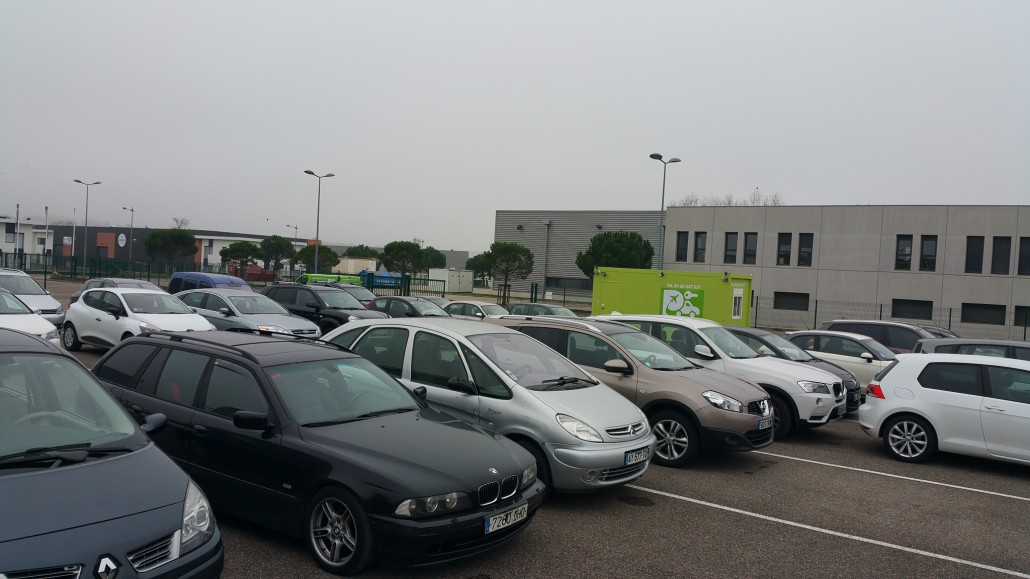 Parking proche de l a roport de lyon st exup ry travelercar for Voiture occasion dans un garage