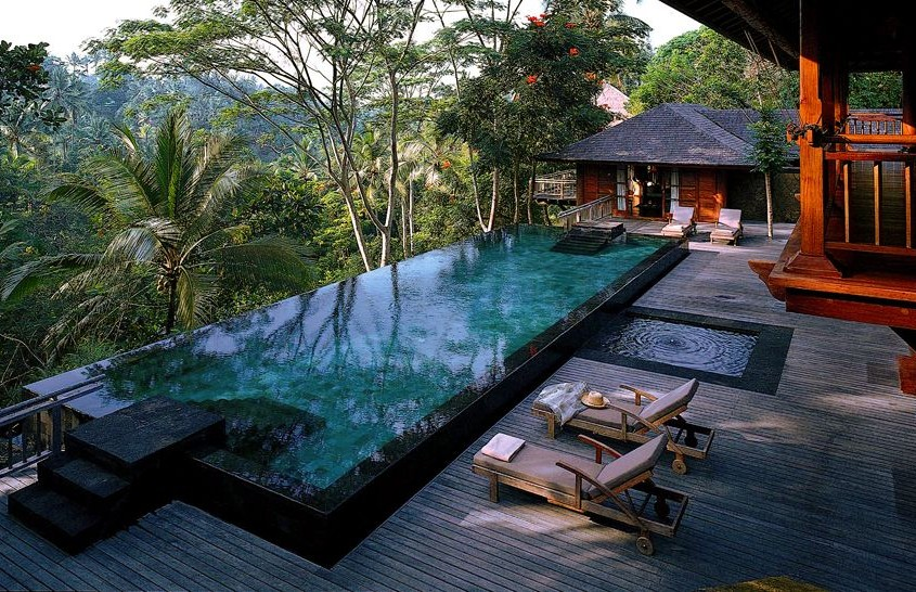 les plus belles piscines bali travelercar. Black Bedroom Furniture Sets. Home Design Ideas